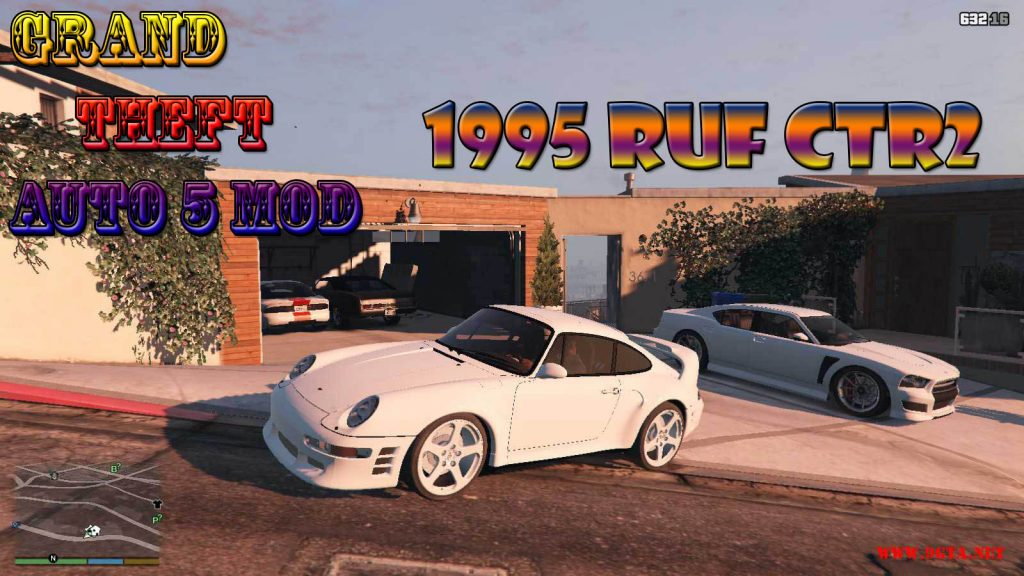 1995 RUF CTR2 Mod For GTA5