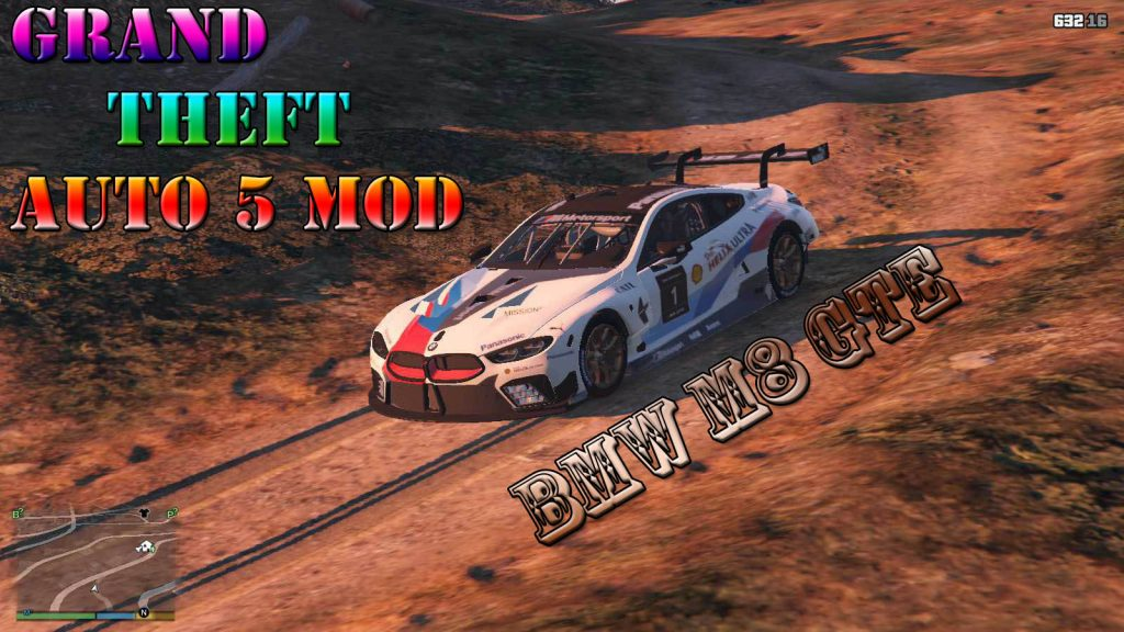 BMW M8 GTE Mod For GTA5