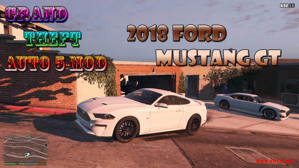 2018 Ford Mustang GT Mod For GTA5