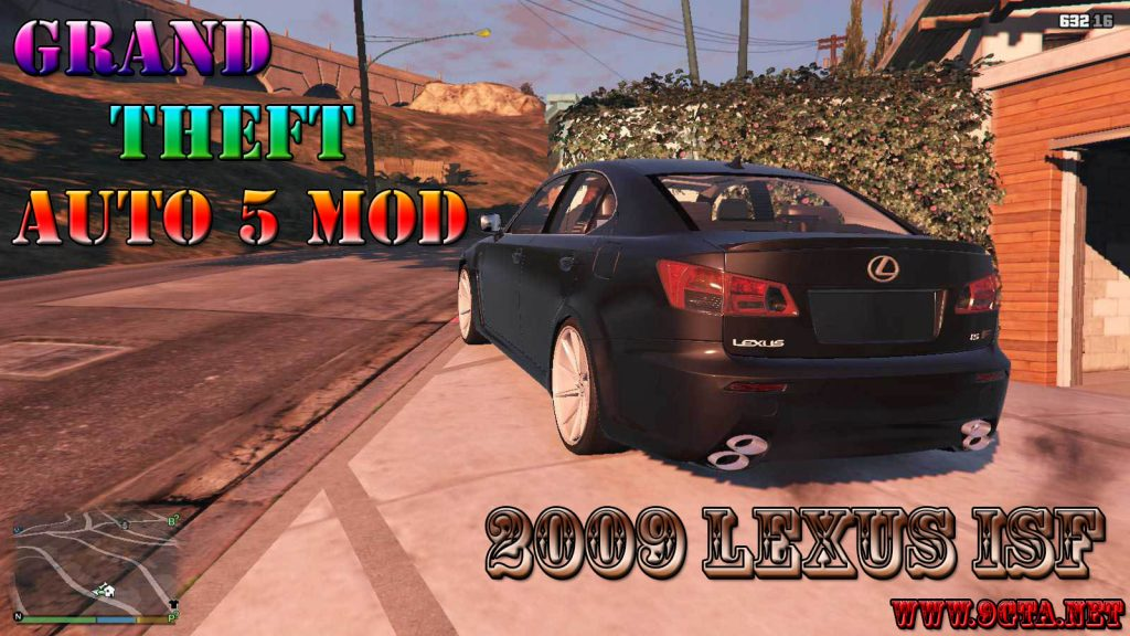 2009 Lexus ISF Mod For GTA5