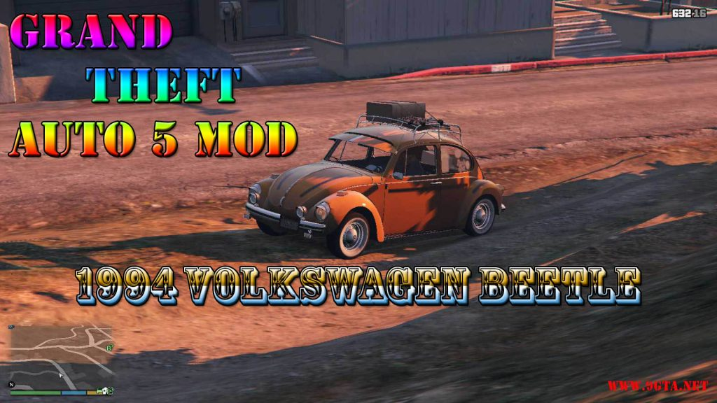 1974 Volkswagen Beetle Mod For GTA5