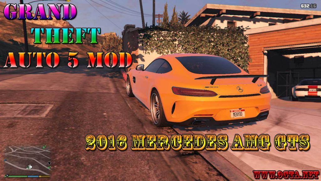 2017 Mercedes AMG GTS Mod For GTA5