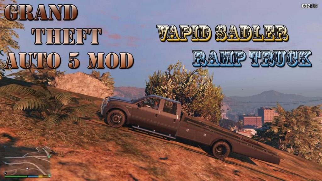 Vapid Sadler Ramp Truck Mod For GTA5