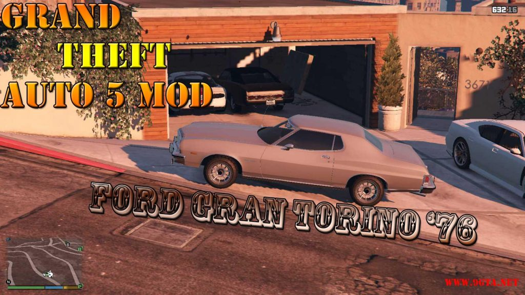 Ford Gran Torino '76 Mod For GTA5
