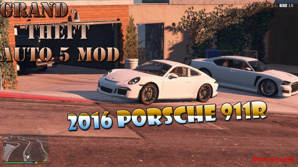 2016 Porsche 911R Mod For GTA5