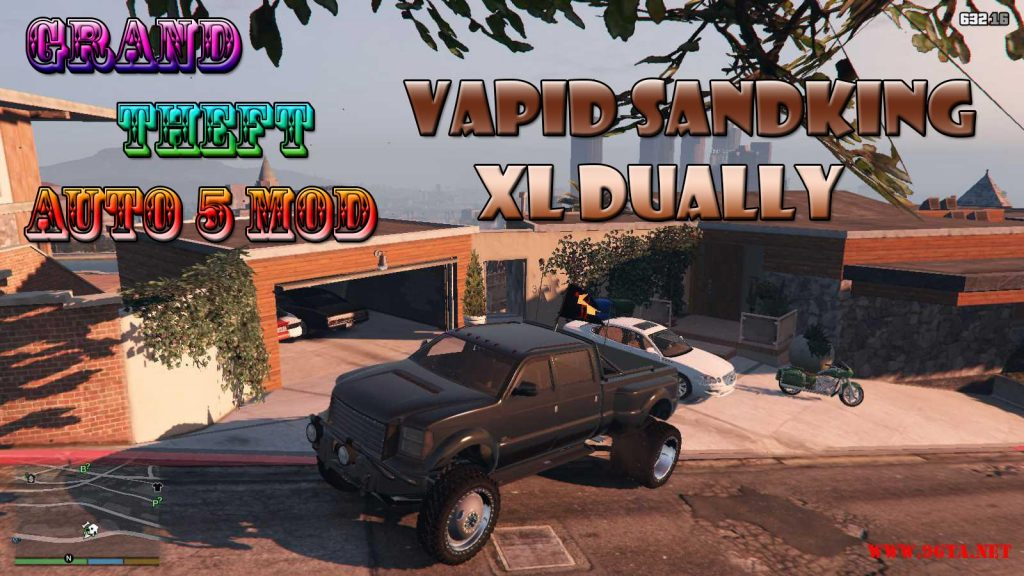 Vapid Sandking XL Dually Mod For GTA5