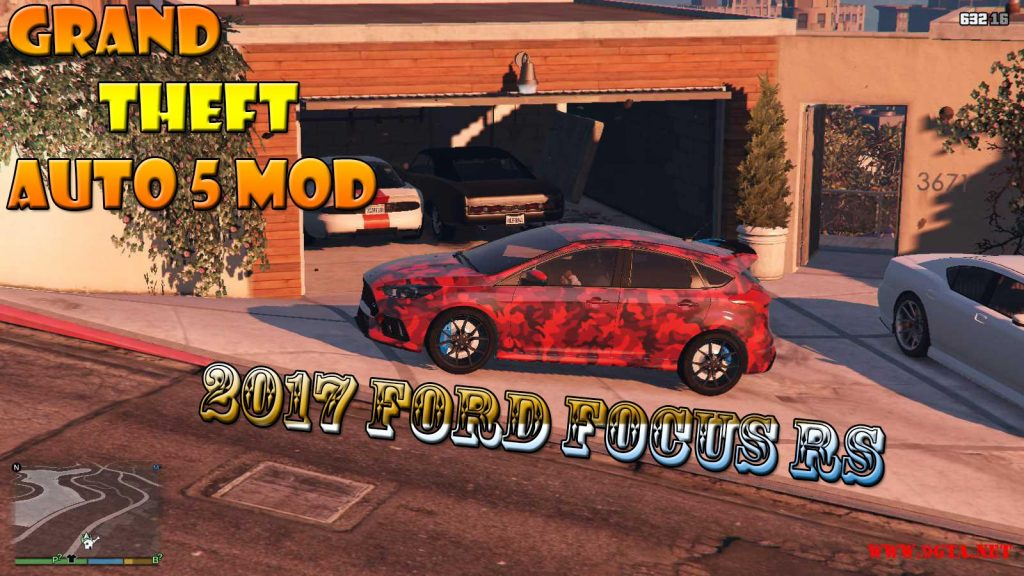 2017 Ford Focus RS Mod For GTA5