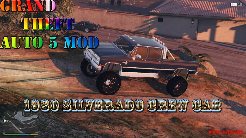 1980 Silverado Crew Cab Mod For GTA5
