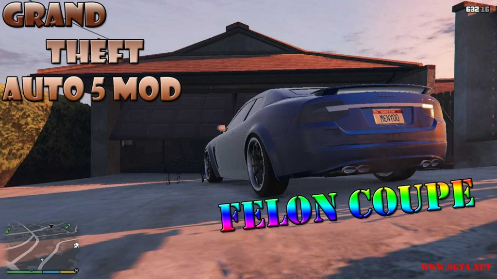Felon Coupe Car Mod For GTA5