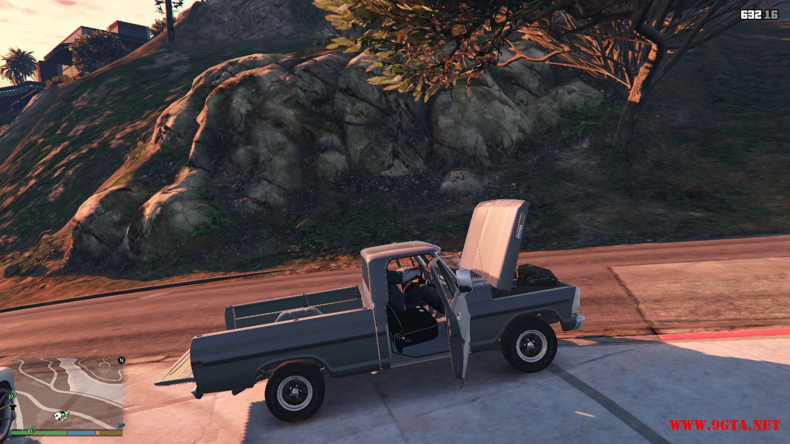 1970 Ford F100 GTA5 Mods (11)