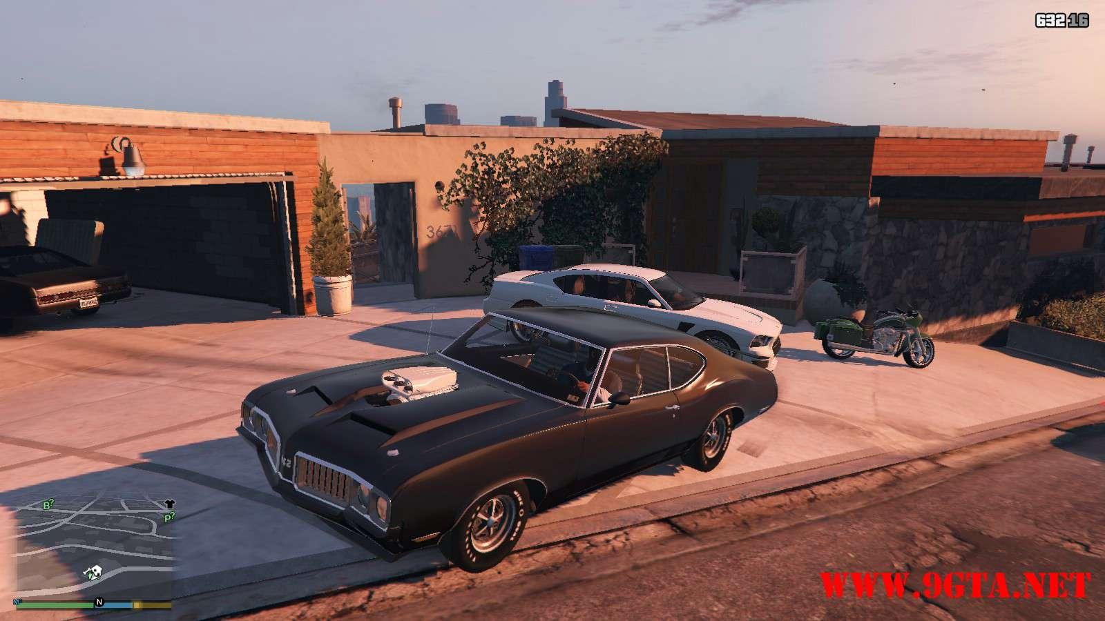 1970 Oldsmobile 442 GTA5 Mods (1)