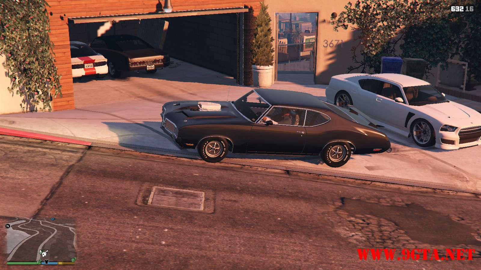 1970 Oldsmobile 442 GTA5 Mods (10)
