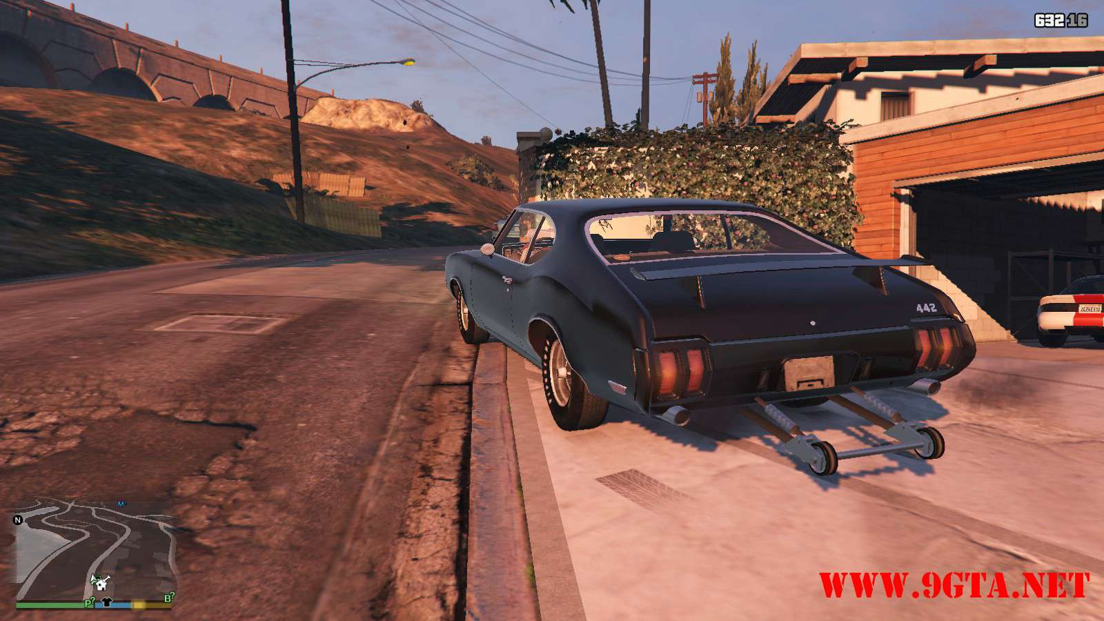 1970 Oldsmobile 442 GTA5 Mods (11)