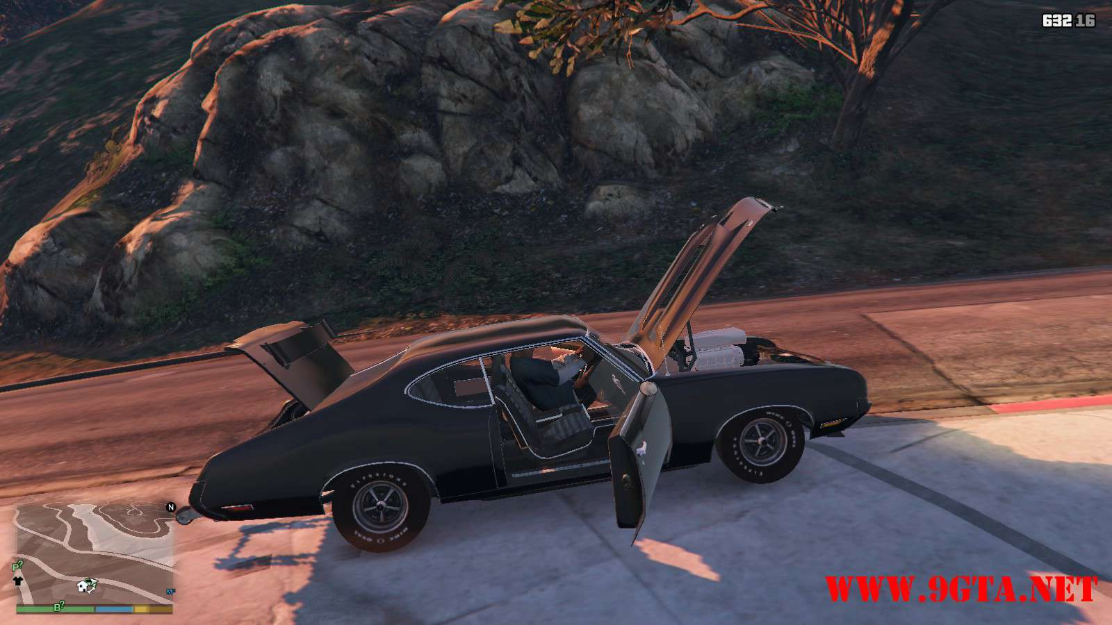 1970 Oldsmobile 442 GTA5 Mods (19)