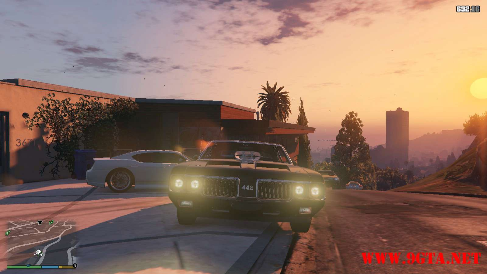 1970 Oldsmobile 442 GTA5 Mods (6)