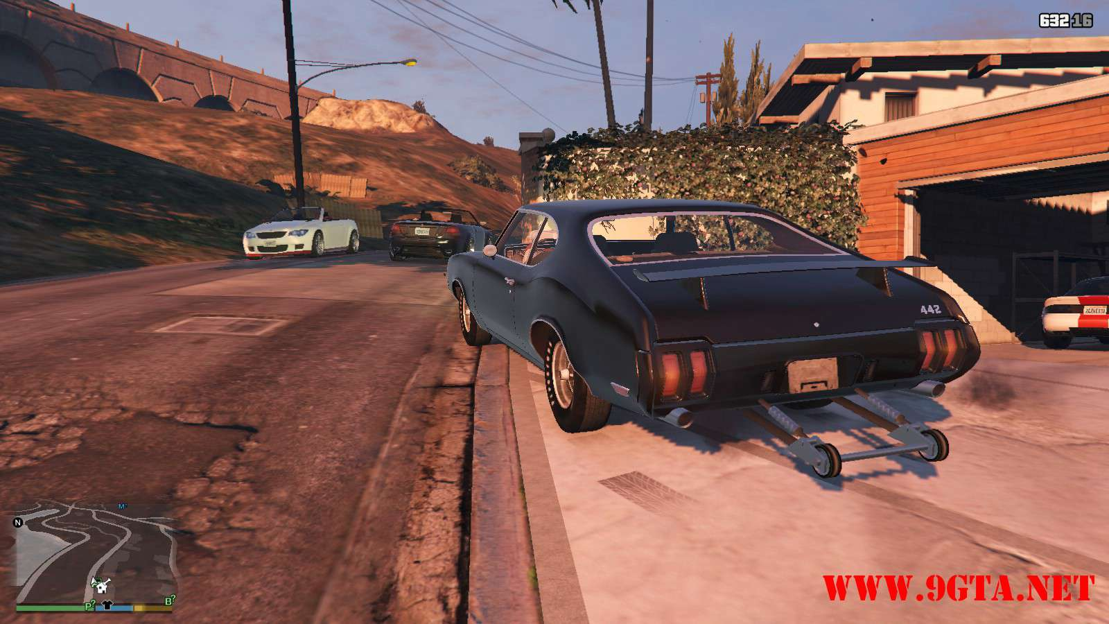 1970 Oldsmobile 442 GTA5 Mods (9)
