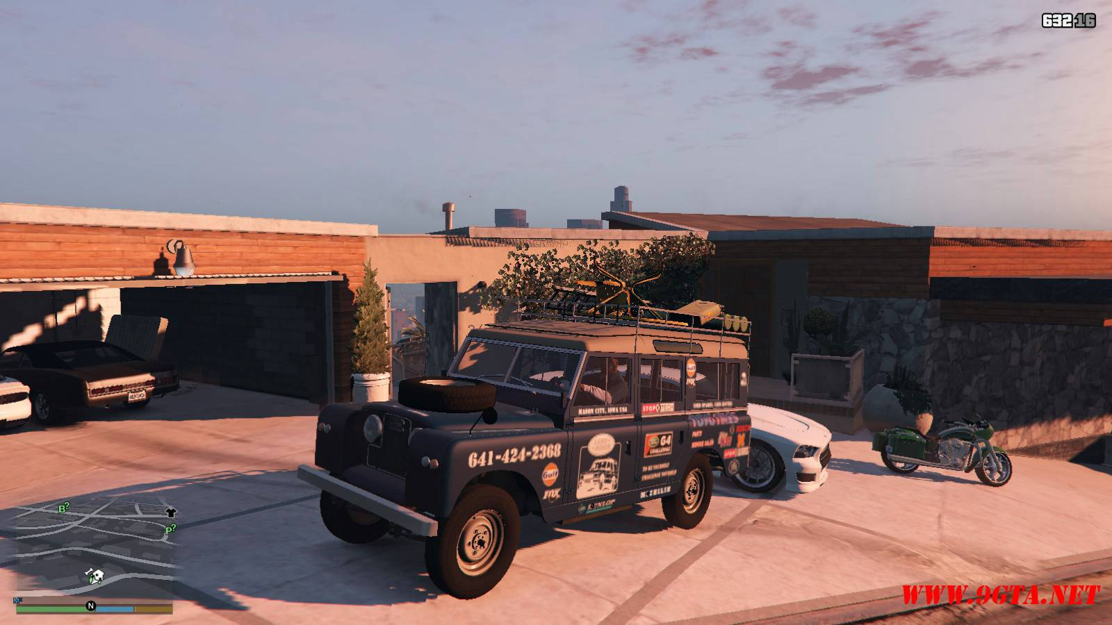 1971 Land Rover Series II Model 109A GTA5 Mods (1)
