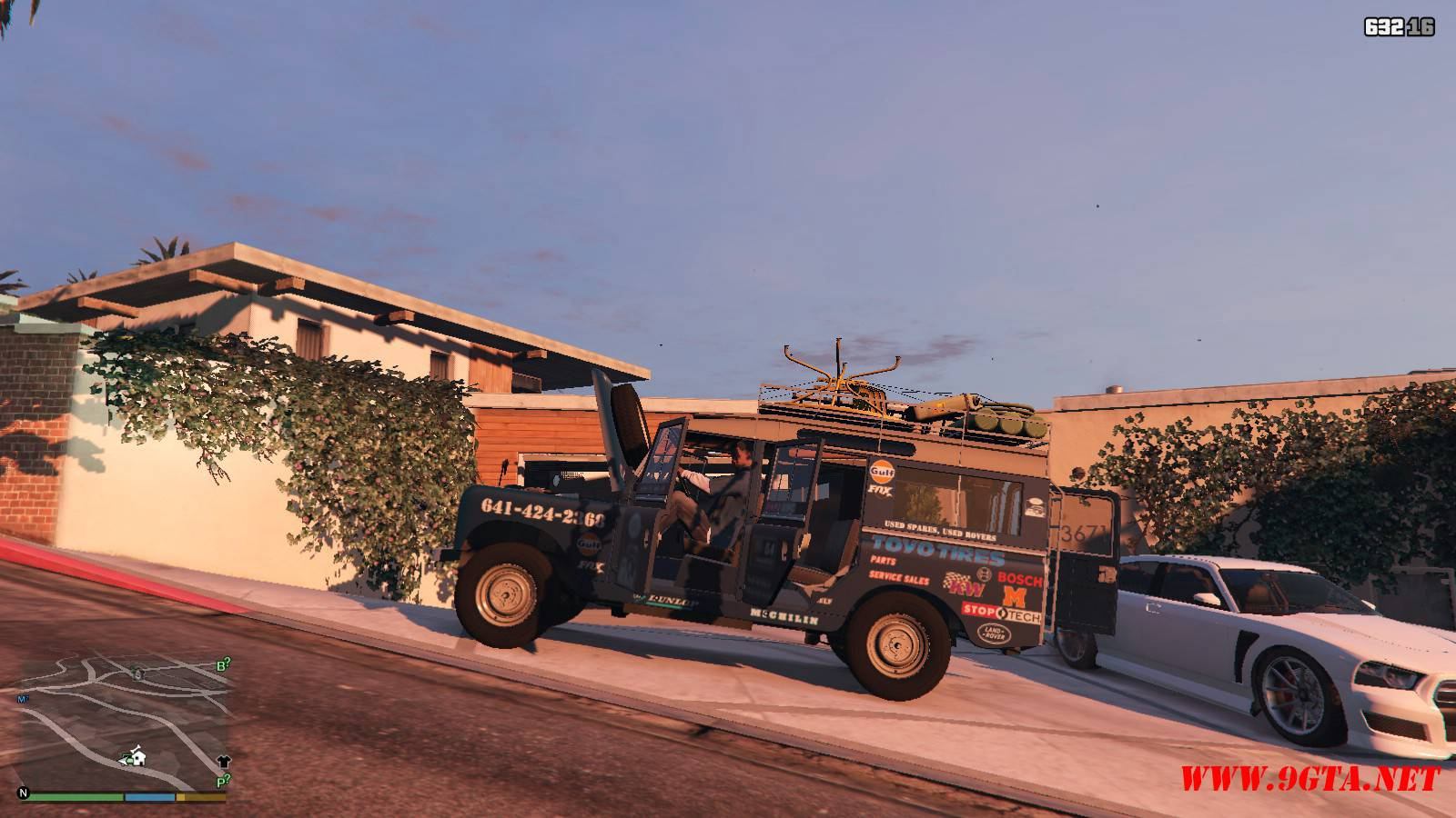 1971 Land Rover Series II Model 109A GTA5 Mods (10)