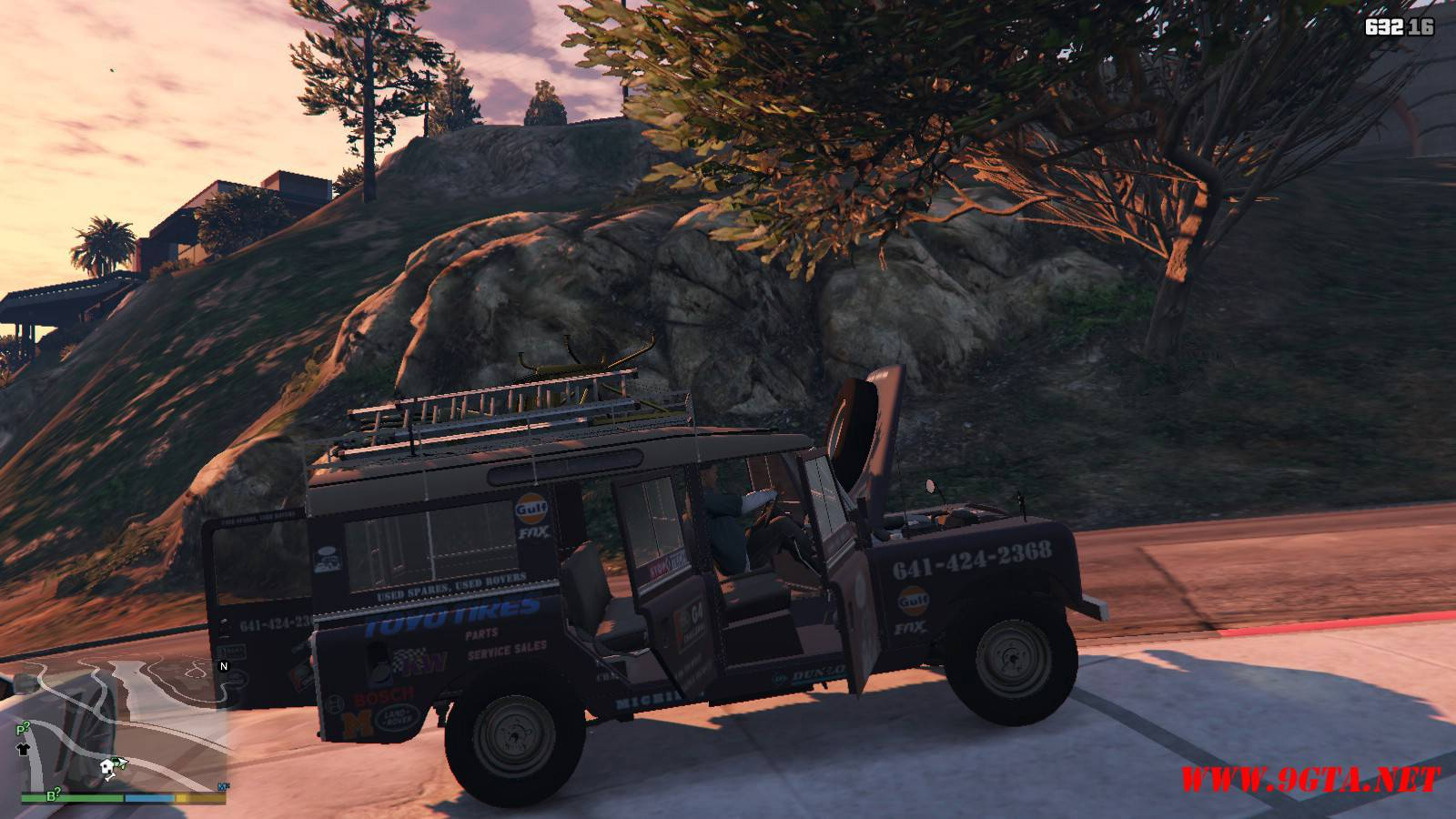 1971 Land Rover Series II Model 109A GTA5 Mods (12)