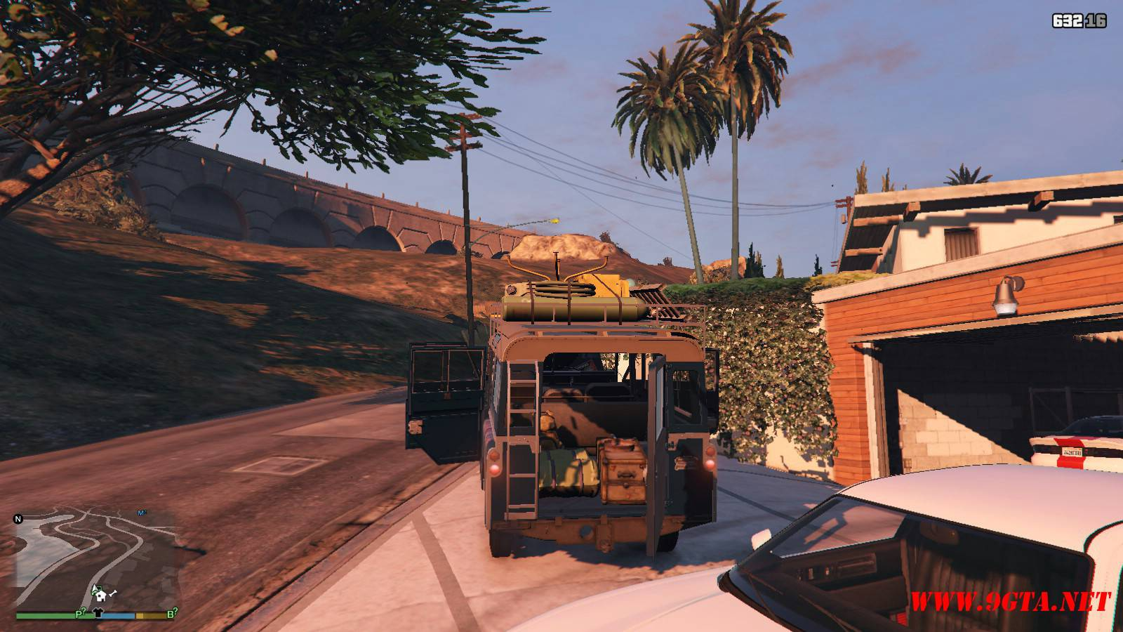 1971 Land Rover Series II Model 109A GTA5 Mods (13)
