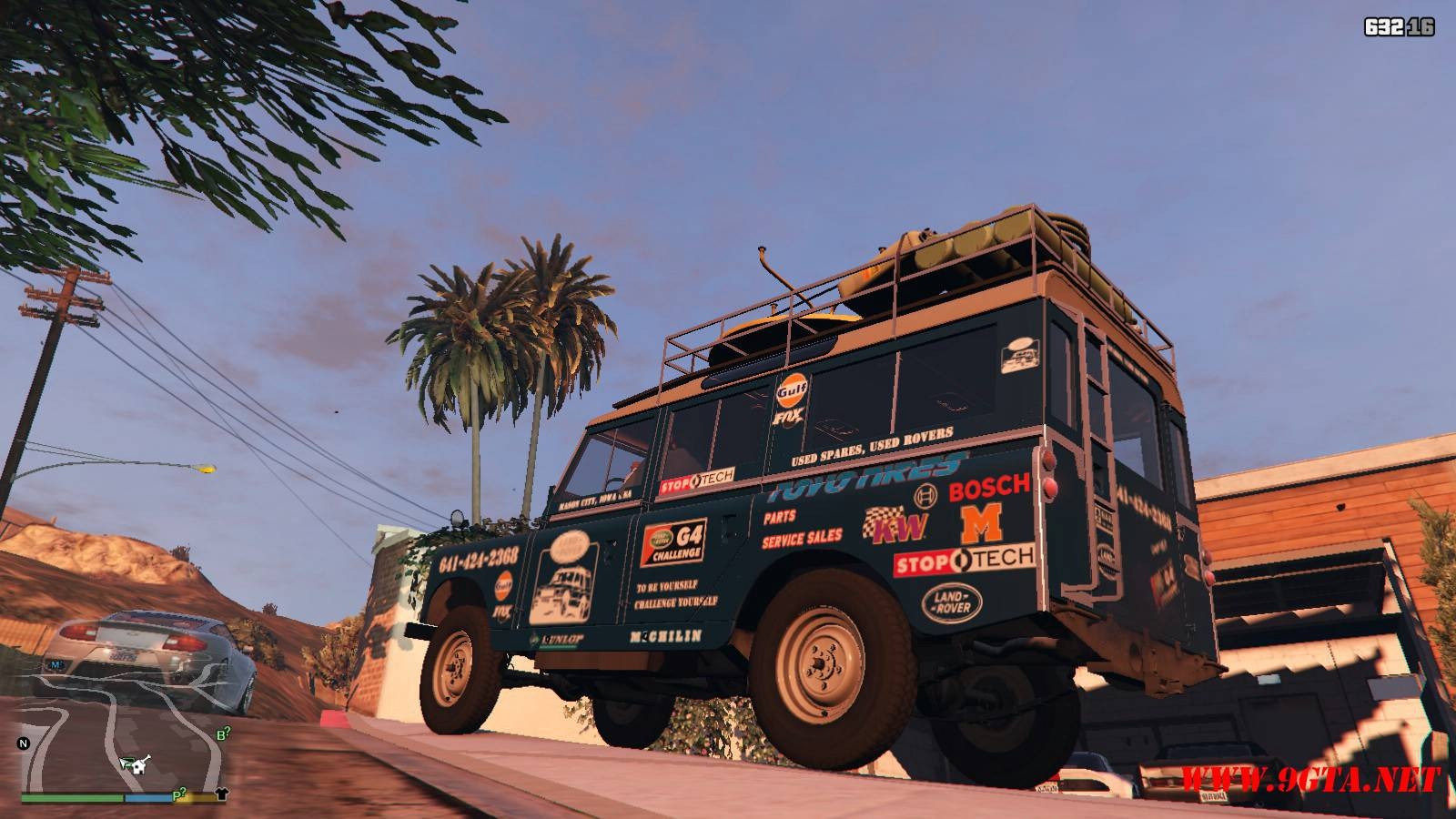 1971 Land Rover Series II Model 109A GTA5 Mods (14)