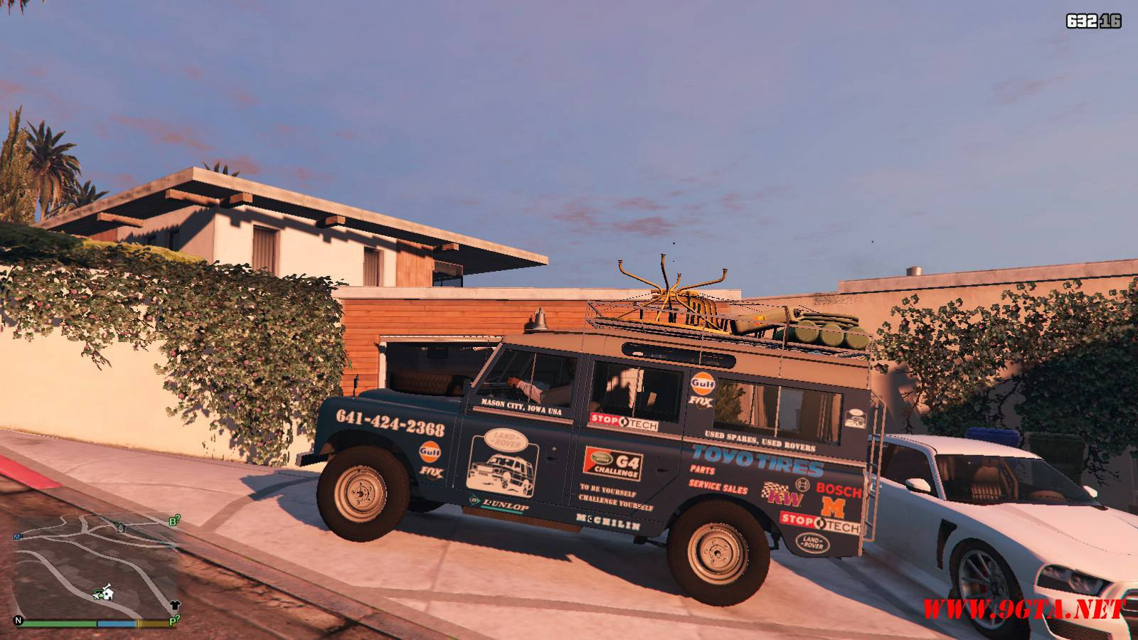 1971 Land Rover Series II Model 109A GTA5 Mods (2)