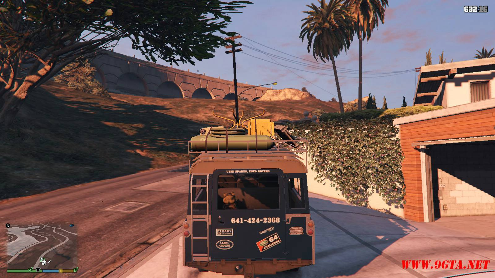 1971 Land Rover Series II Model 109A GTA5 Mods (3)