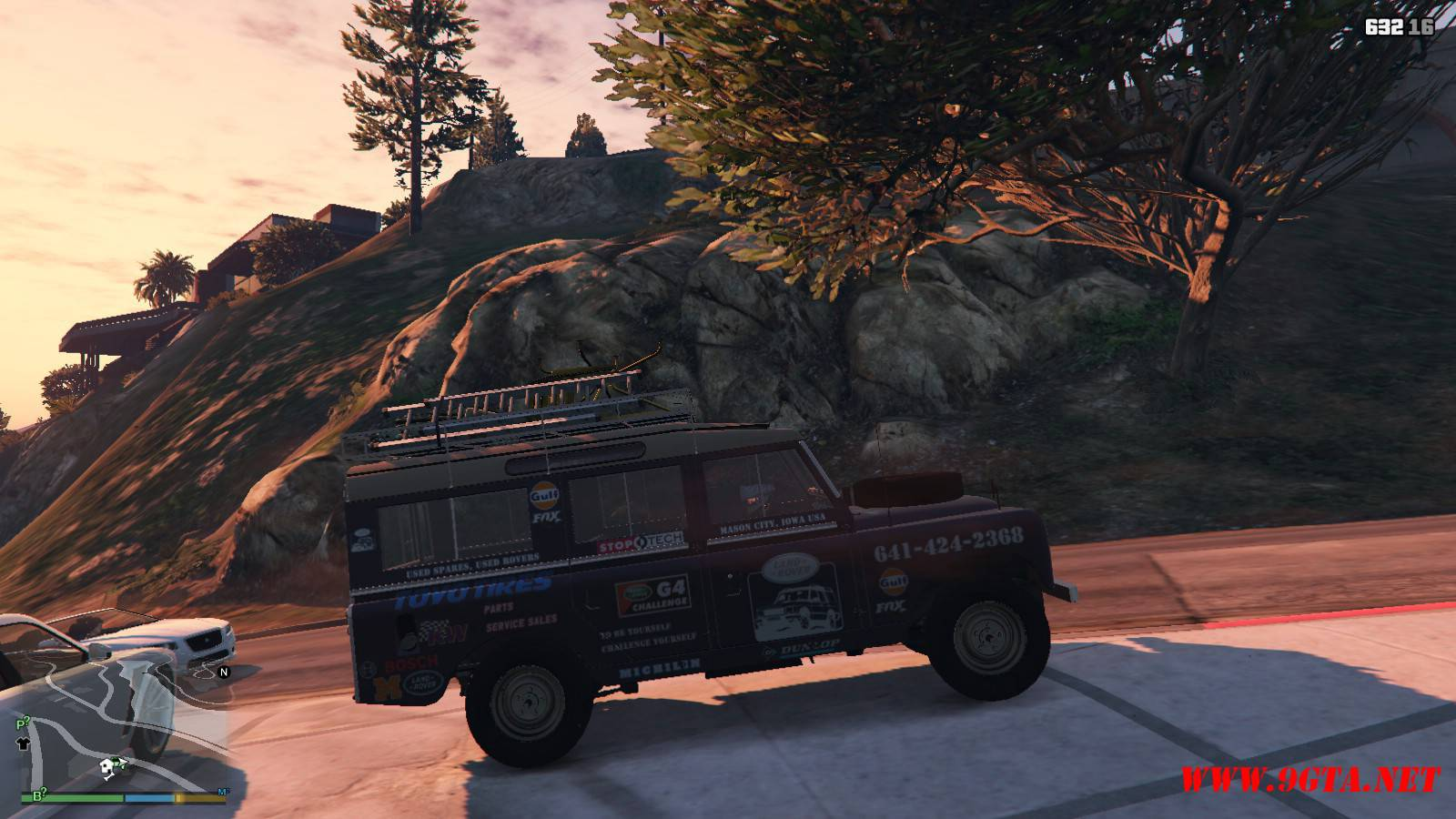 1971 Land Rover Series II Model 109A GTA5 Mods (4)