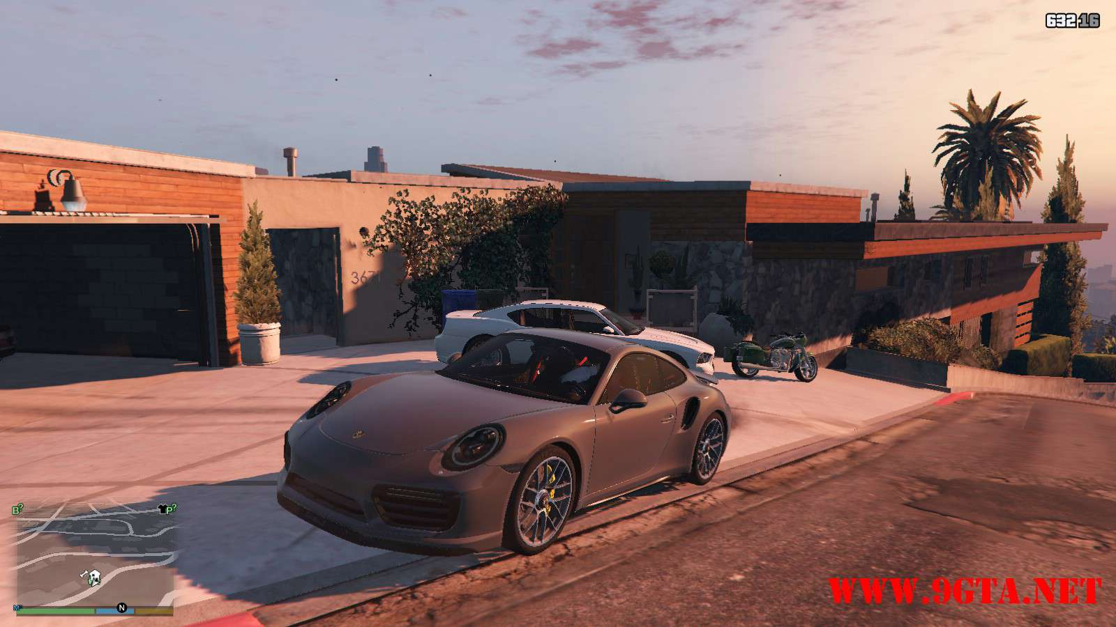 2016 Porsche 911 Turbo S GTA5 Mods (1)