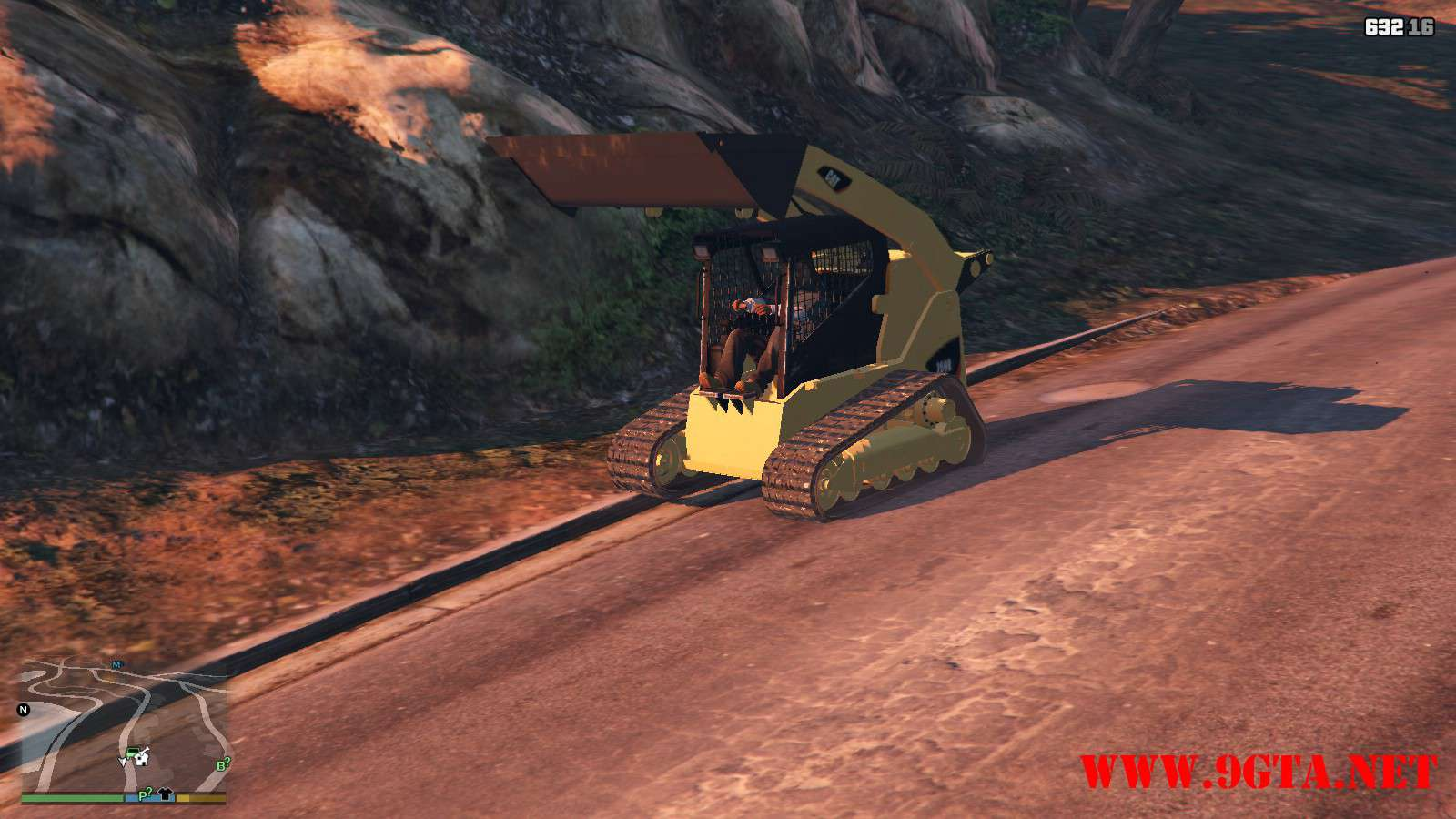 2018 CAT 259B3 GTA5 Mods (10)