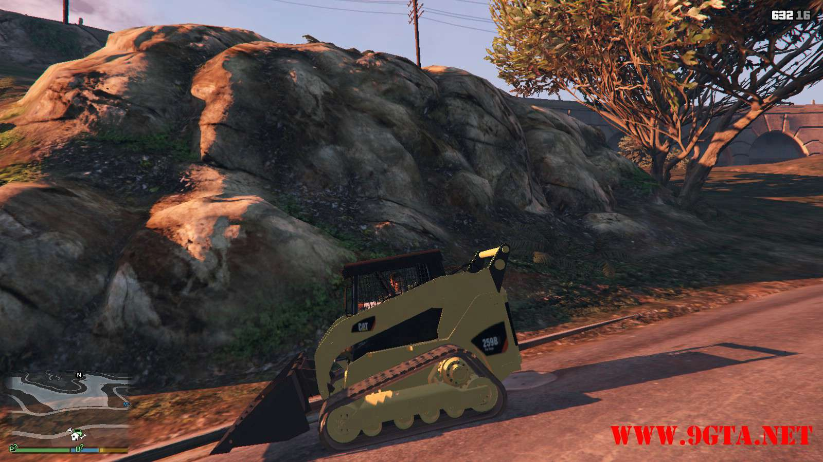 2018 CAT 259B3 GTA5 Mods (2)