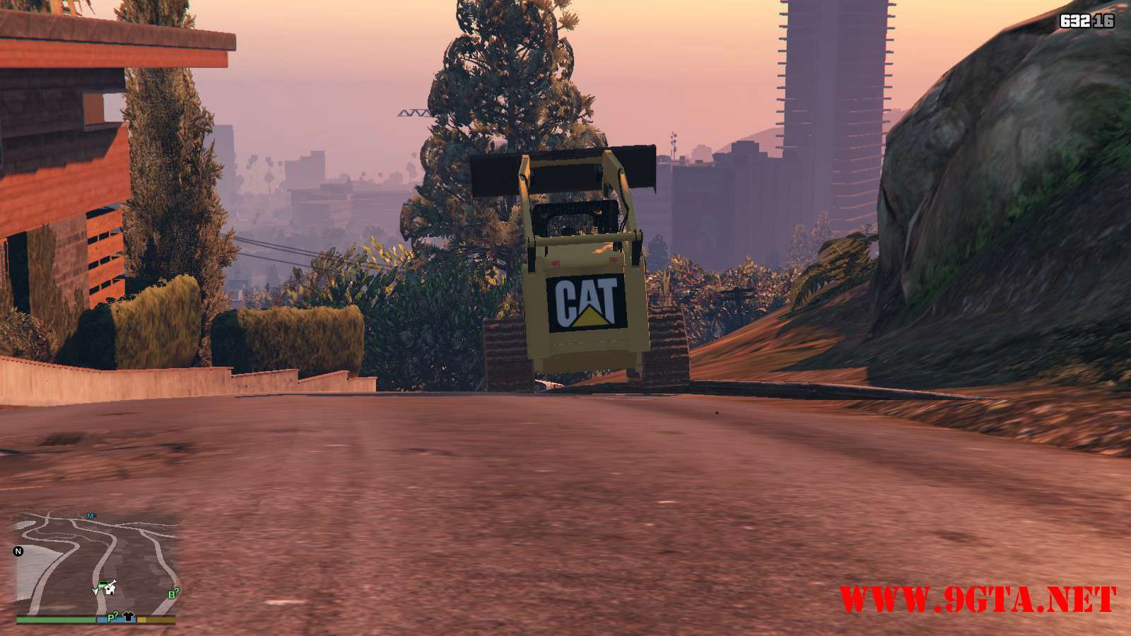 2018 CAT 259B3 GTA5 Mods (8)