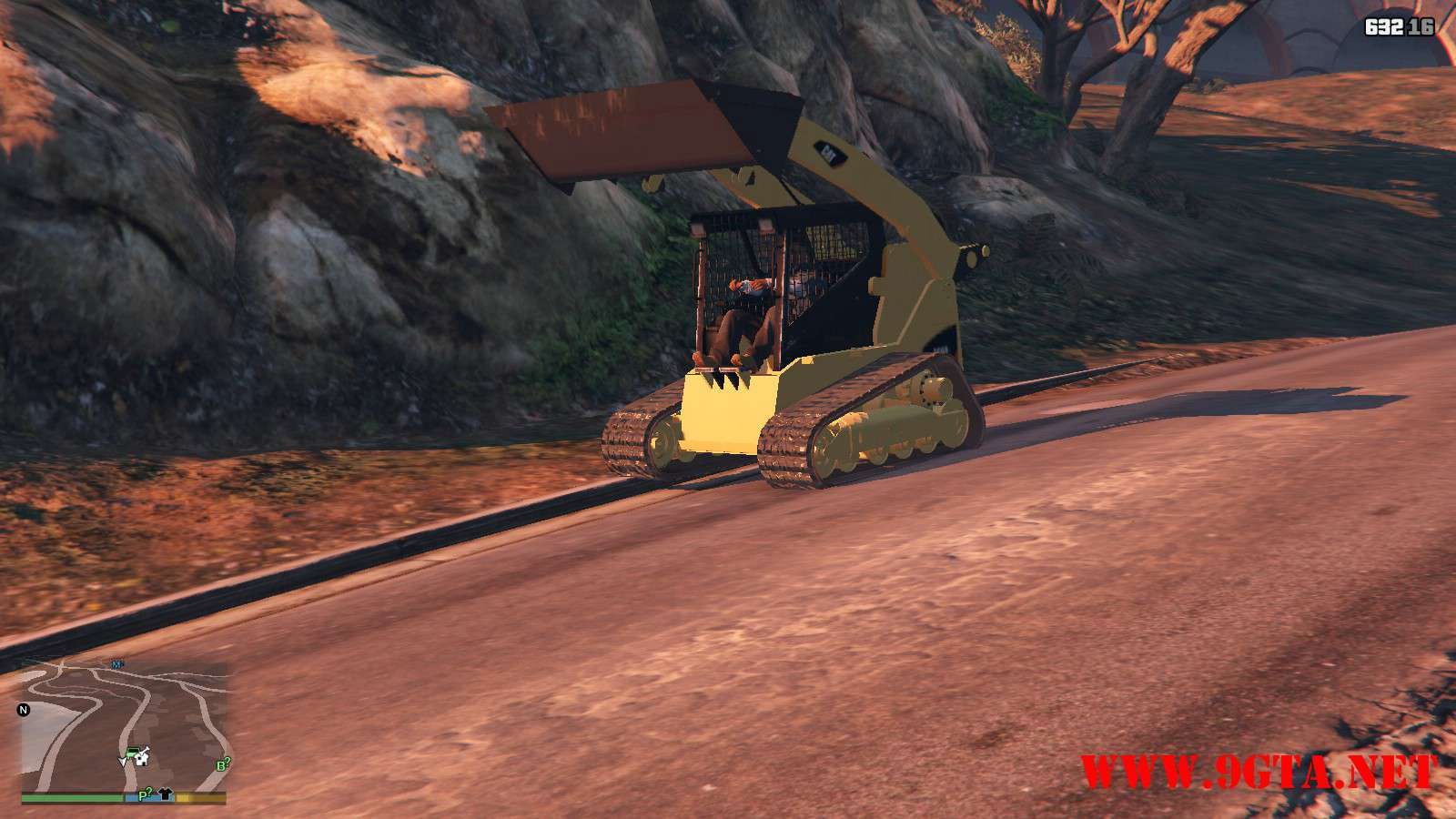 2018 CAT 259B3 GTA5 Mods (9)