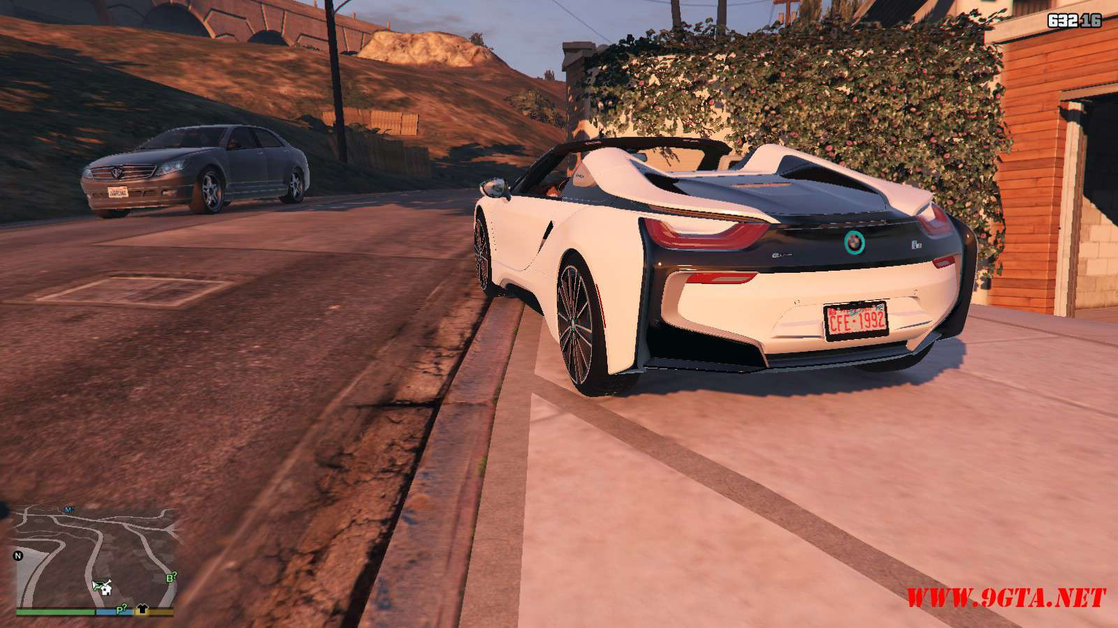 2019 BMW I8 Roadster GTA5 Mods (17)