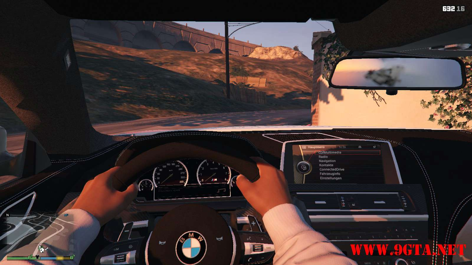 BMW M6 Coupe 2013 V2.0 GTA5 Mods (16)