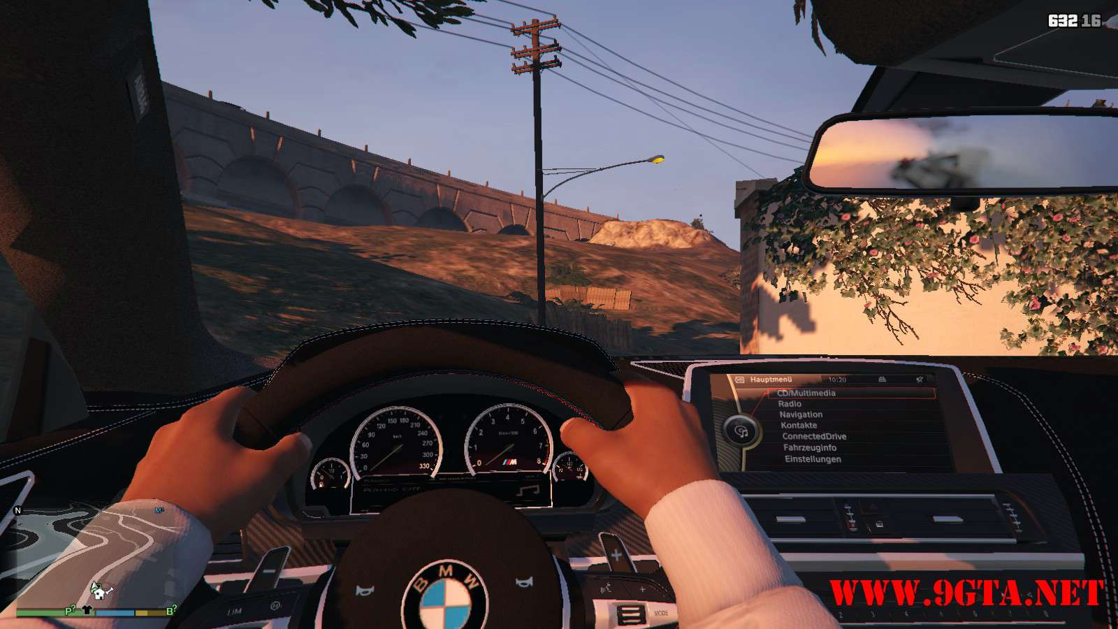BMW M6 Coupe 2013 V2.0 GTA5 Mods (17)