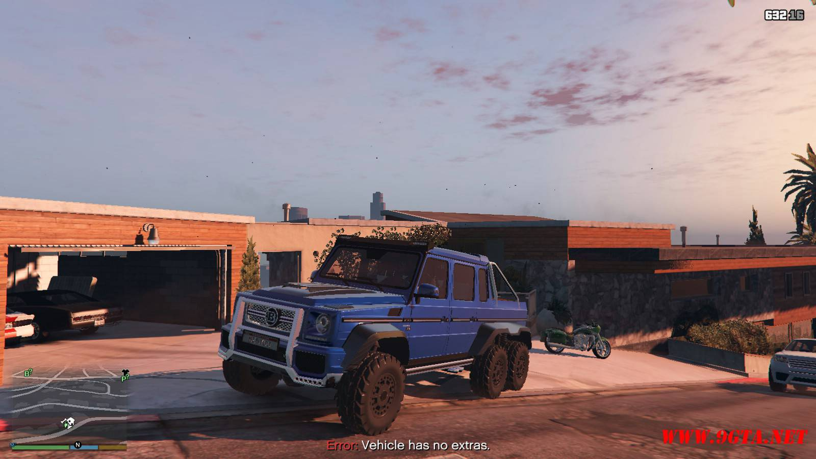 Barbus 700 G63 AMG GTA5 Mods (1)