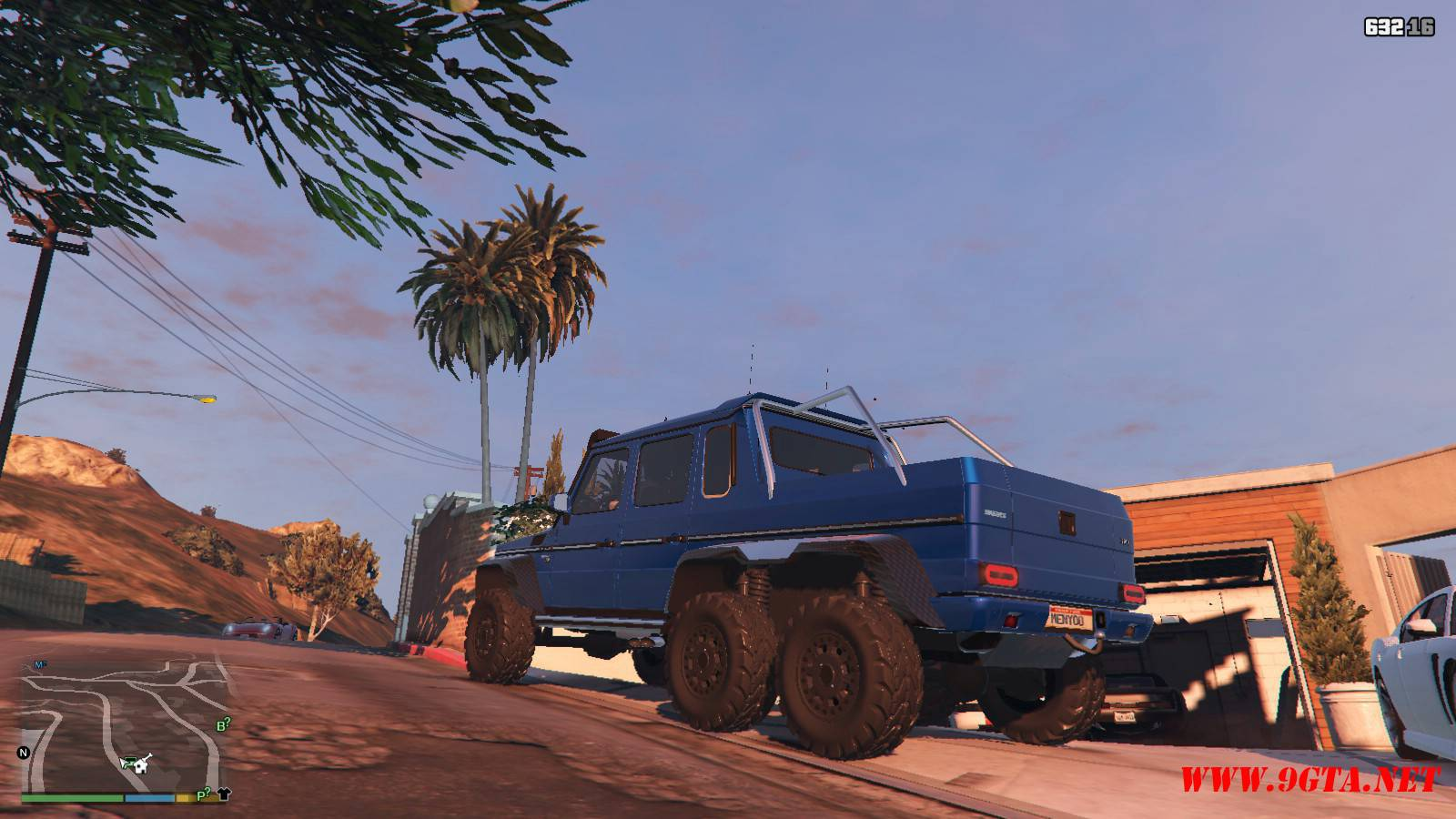 Barbus 700 G63 AMG GTA5 Mods (13)