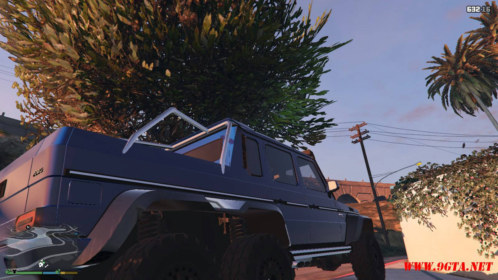 Barbus 700 G63 AMG GTA5 Mods (14)