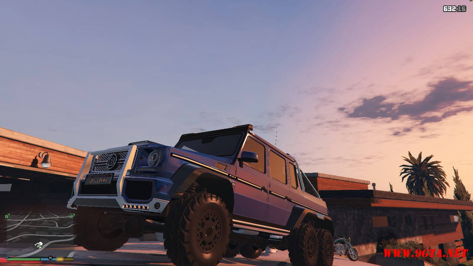 Barbus 700 G63 AMG GTA5 Mods (15)