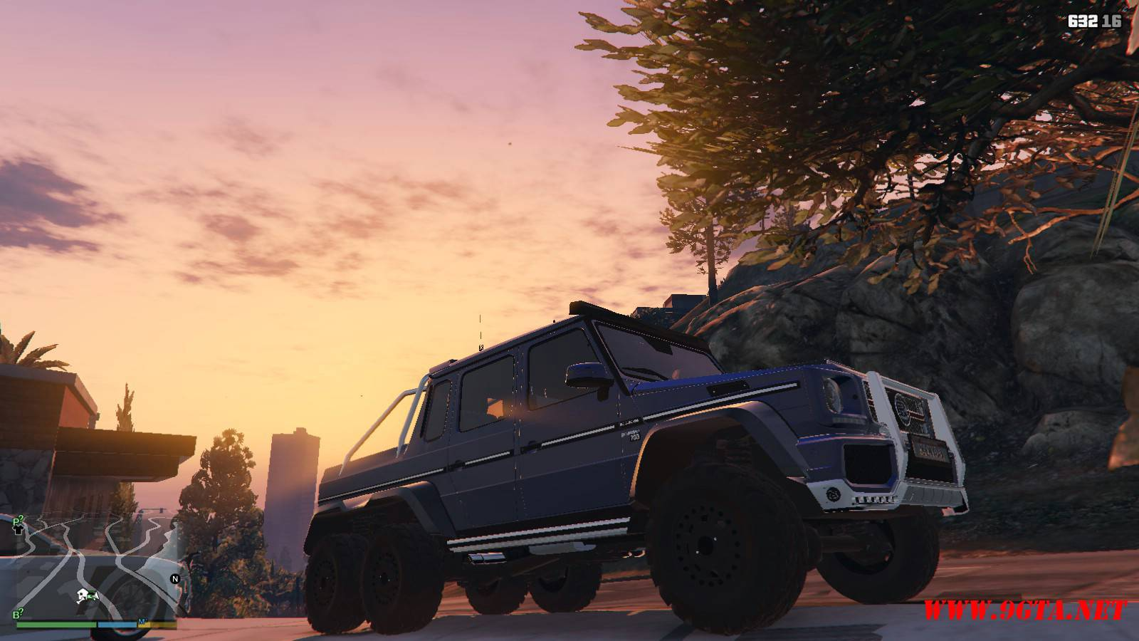 Barbus 700 G63 AMG GTA5 Mods (16)