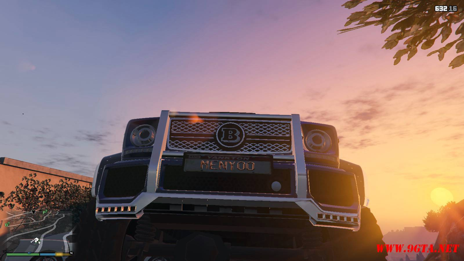 Barbus 700 G63 AMG GTA5 Mods (17)