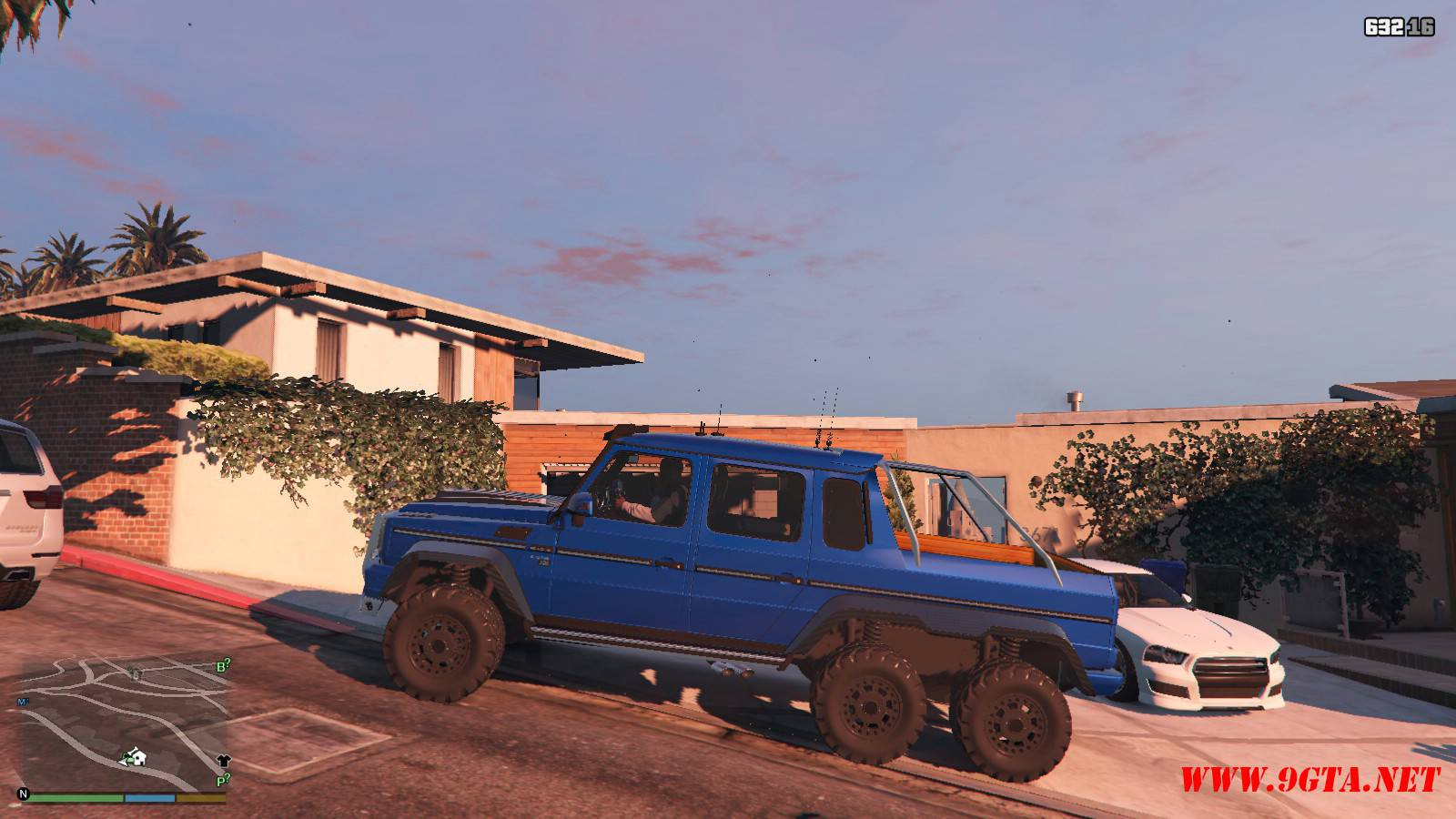 Barbus 700 G63 AMG GTA5 Mods (2)