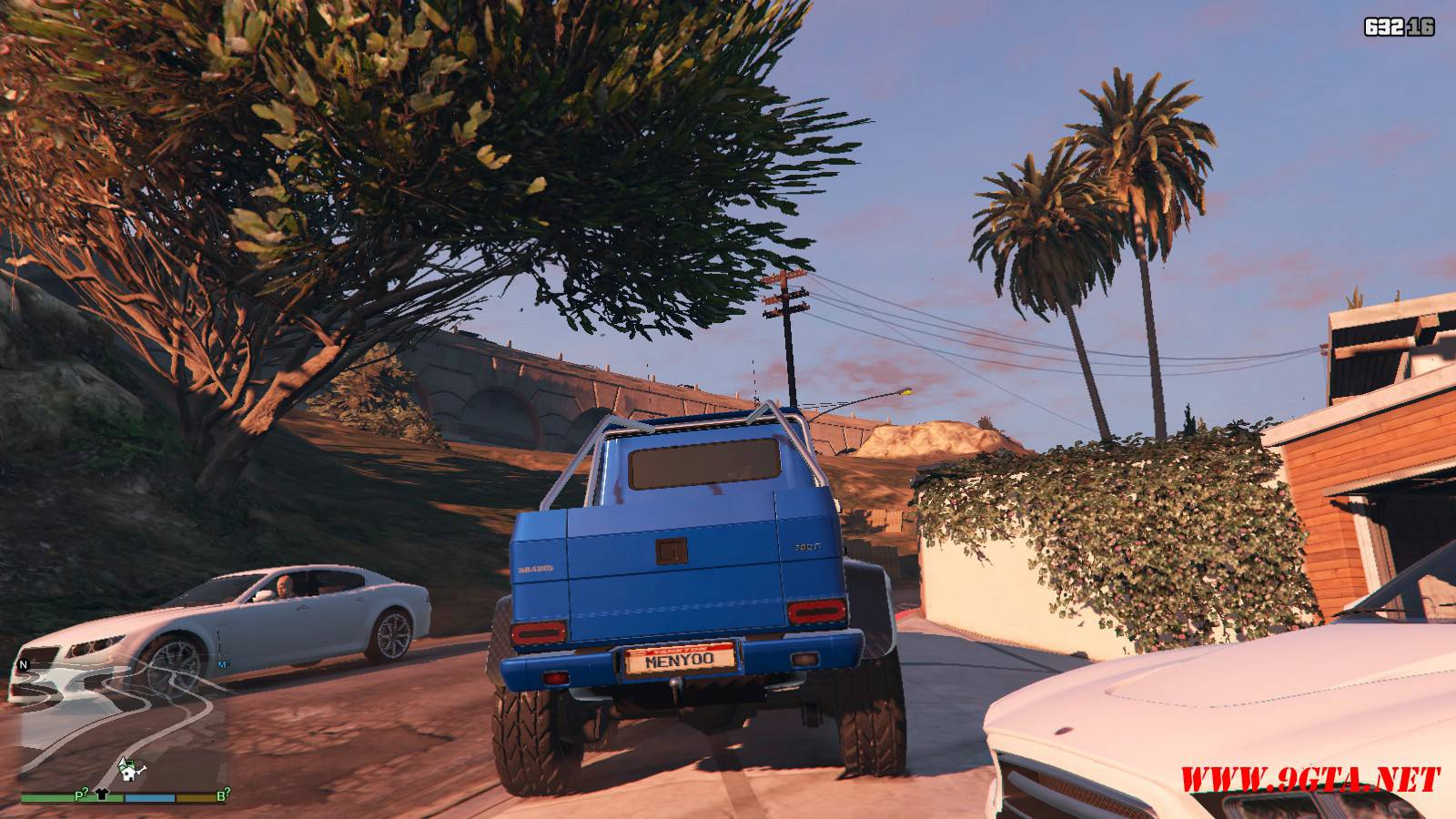 Barbus 700 G63 AMG GTA5 Mods (3)