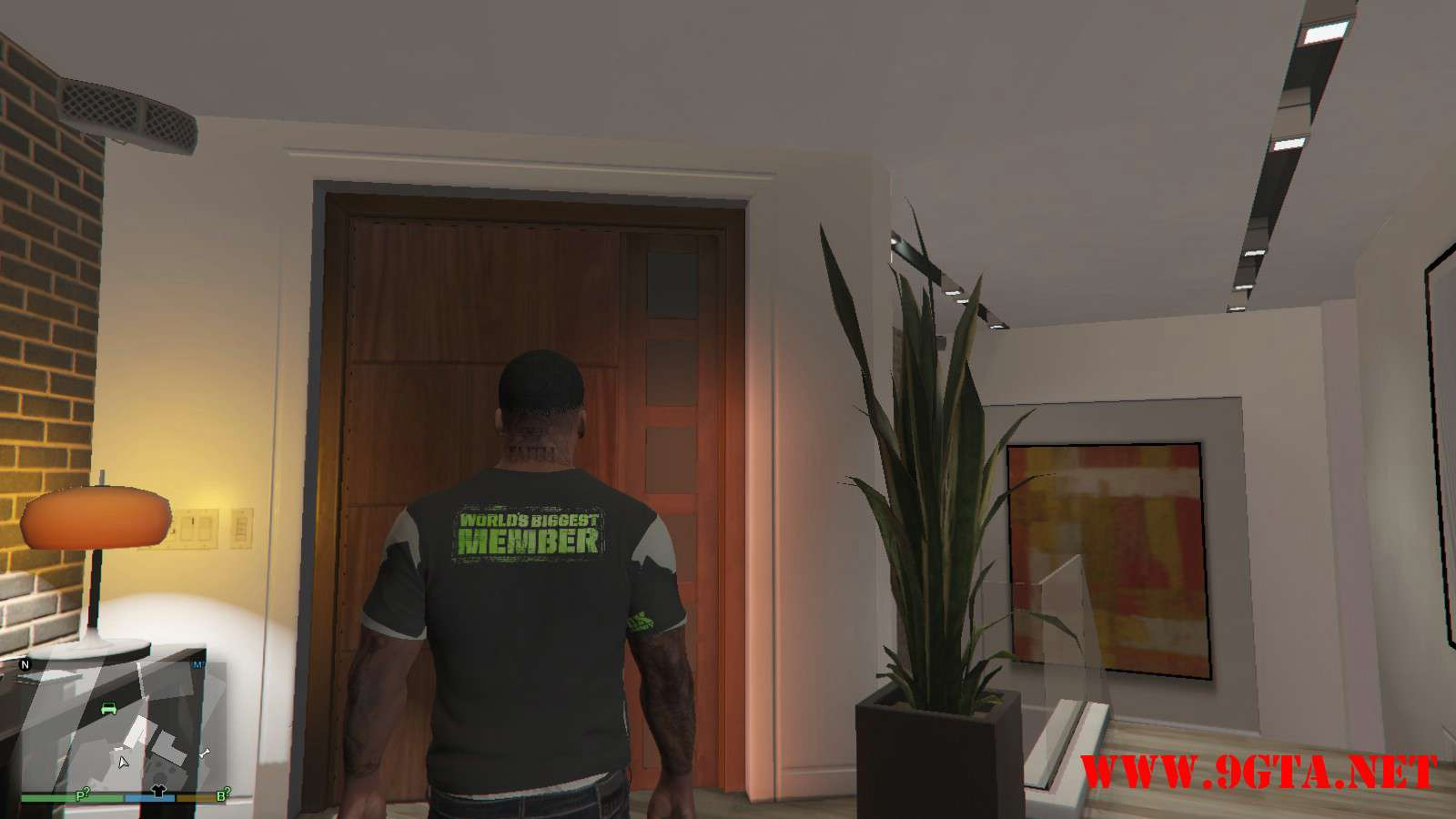 DX Tank Shirt On Franklin GTA5 Mods (2)
