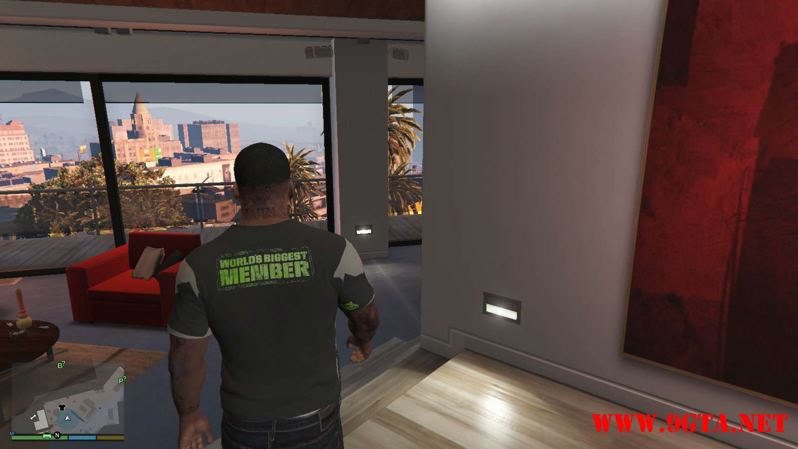 DX Tank Shirt On Franklin GTA5 Mods (3)