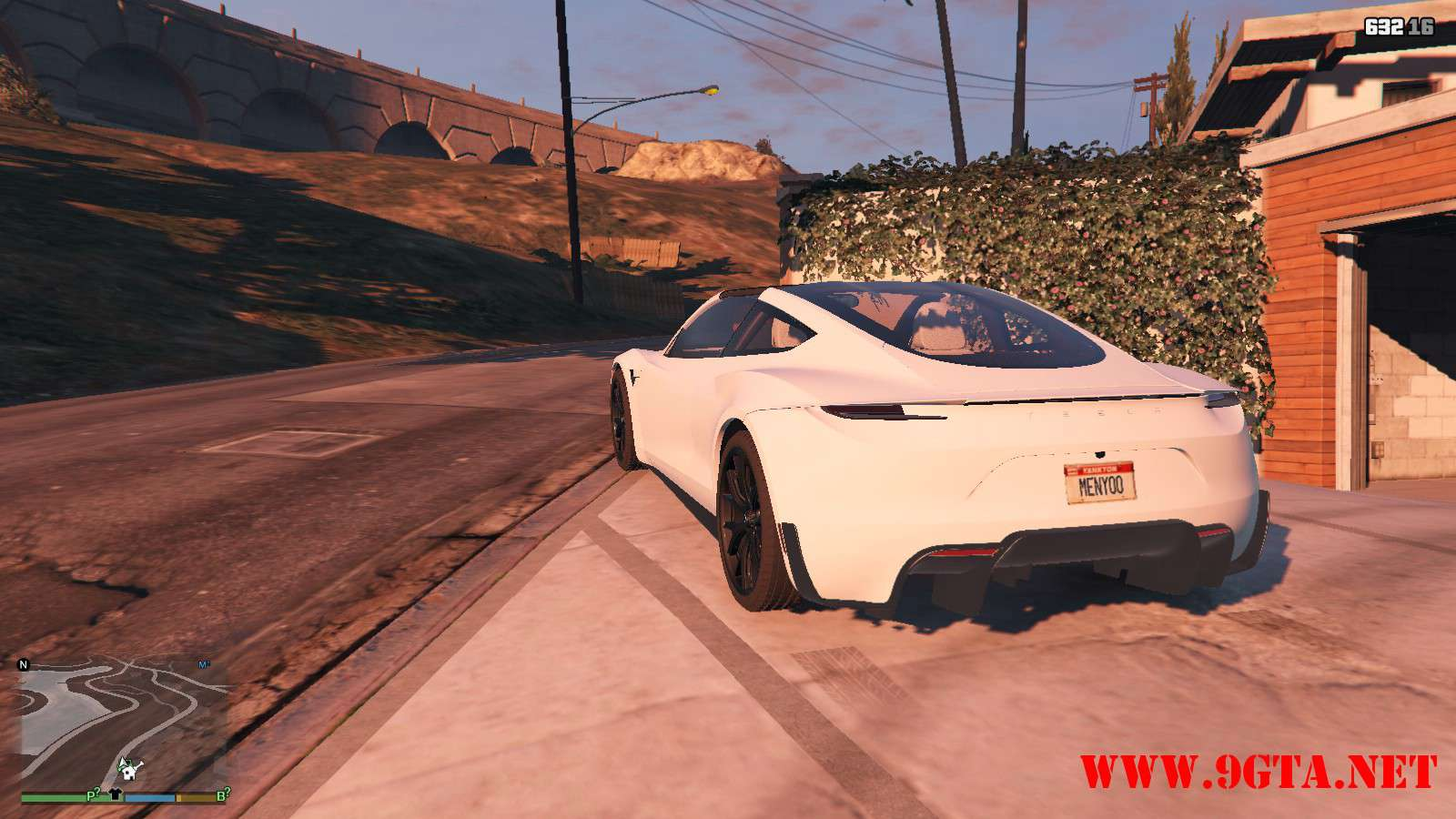 Tesla Roadster 2020 GTA5 Mods (11)