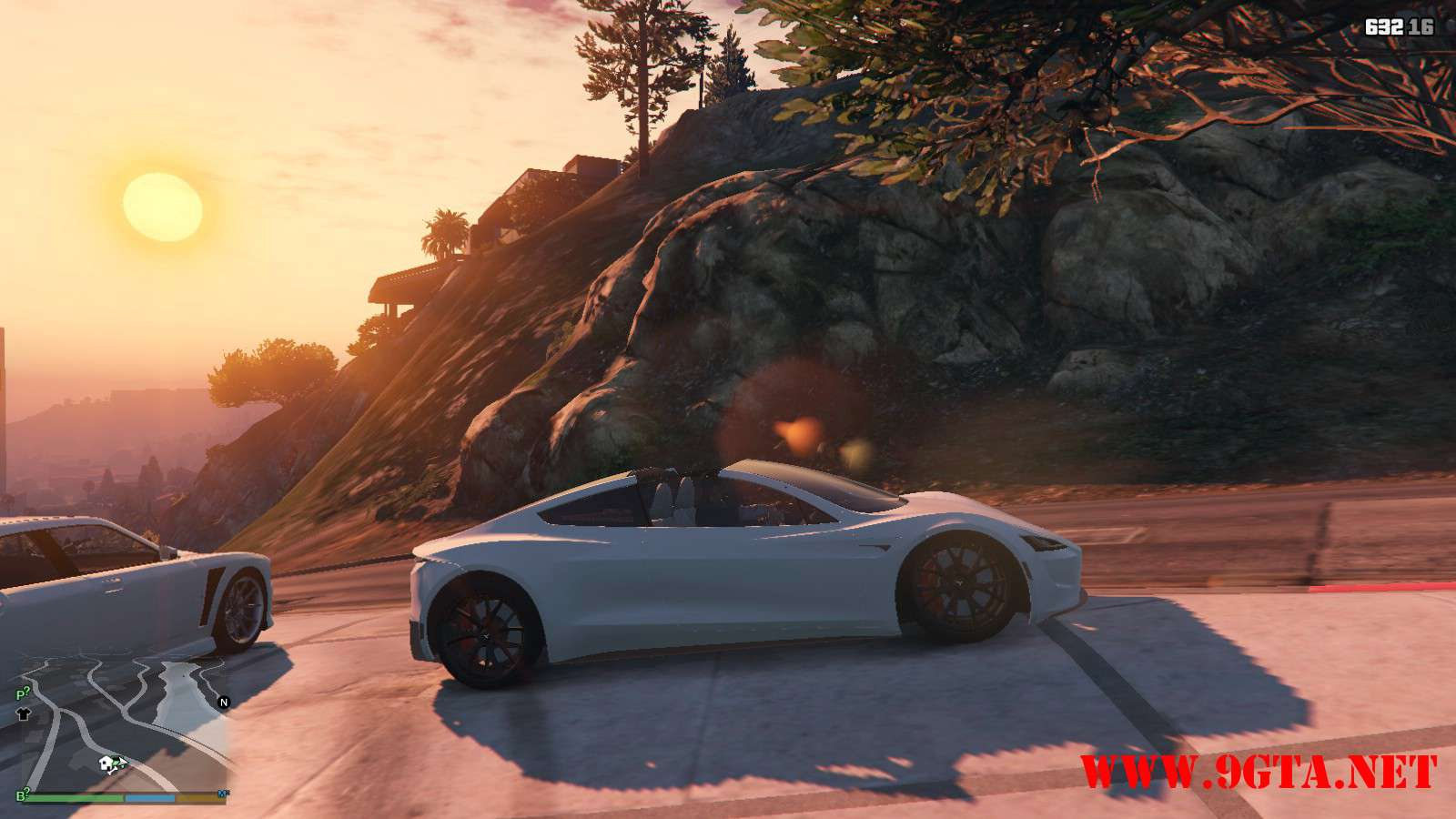 Tesla Roadster 2020 GTA5 Mods (4)