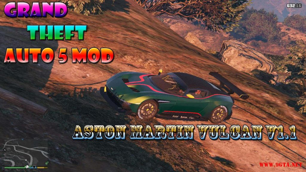 Aston Martin Vulcan v1.1 Mod For GTA5