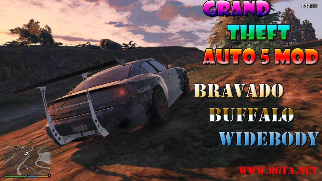 Bravado Buffalo Widebody Mod For GTA5